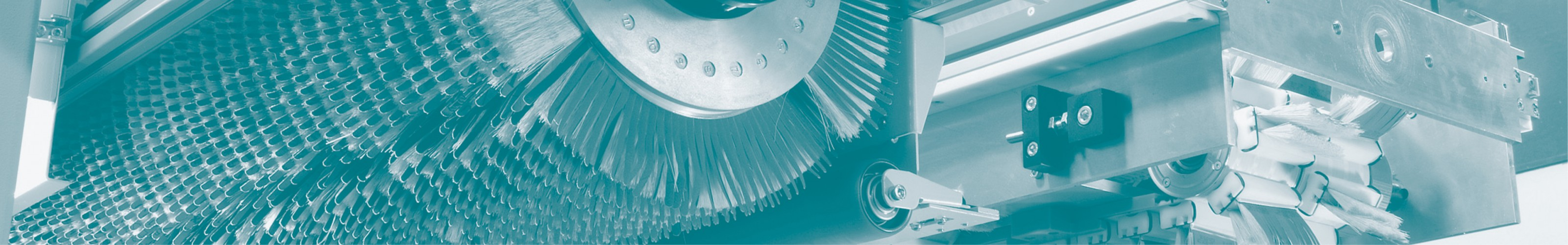 abrasive cleaning - brush unit