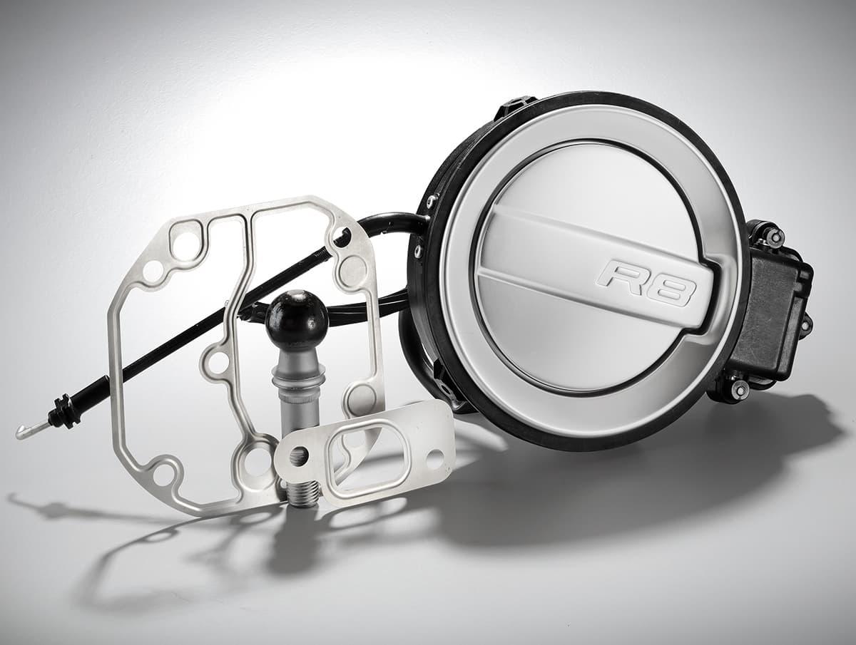 Picture car fuel tank cap