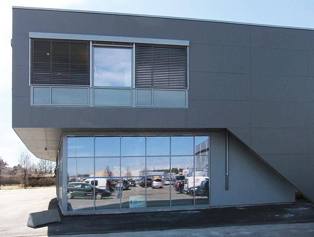 Picture facade cladding