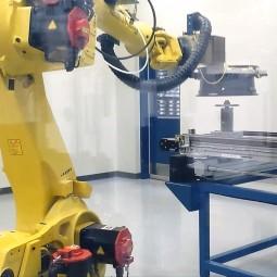 Beschickungsroboter Rohrmuffen